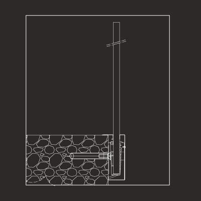 Profilo serramenti Floor Mount