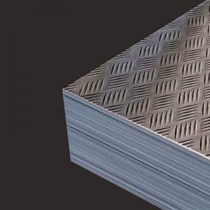 Alluminio in lamiera Mandorlata